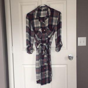 Charlotte Russe plaid dress